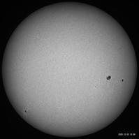 12月2日の太陽 - お手軽天体写真