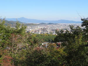 京都トレイル散策小倉山(296M)登頂 編 - 風の便り
