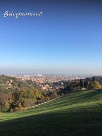 秋のヴィッラ ギジ公園からの眺め - ボローニャとシチリアのあいだで2