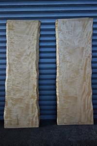 杢のある栃 一枚板 - SOLiD「無垢材セレクトカタログ」/ 材木店・製材所 新発田屋(シバタヤ)