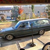 セドリック130 ワゴン6 - Lowering car height makes trouble - 名称未設定 - 古いくるま, バイクとシンプル田舎暮らし