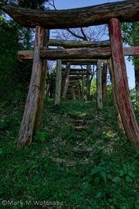 名前の無い稲荷神社 - Mark.M.Watanabeの熊本撮影紀行