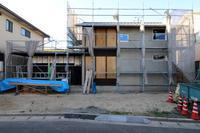 外壁板張り/浴室板張り/土手下の住宅/倉敷 - 建築事務所は日々考える