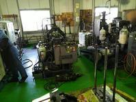 鋳造機の修理とメンテナンス - 東大阪のダイカスト工場の日々。          by 共栄ダイカスト㈱