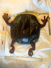 特大口金で巨大なカエルに着手ちゅう〜 - 布と木と革FHMO-DESIGNS(エフエッチエムオーデザインズ)Favorite Hand Made Original Designs