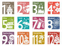 そう言えばカレンダー(岡) - 柚の森の仲間たち