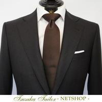 オリジナルネクタイ・ブラウンソリッド | NETSHOP - オーダースーツ東京 | ツサカテーラー 公式ブログ