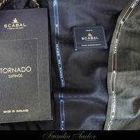 スキャバル<トルネード>の服地   オーダースーツ - オーダースーツ東京   ツサカテーラー 公式ブログ