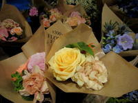 GATE FLOWER FIELD * @300円ブーケで素敵なアレンジ♪ - ぴきょログ~軽井沢でぐーたら生活~
