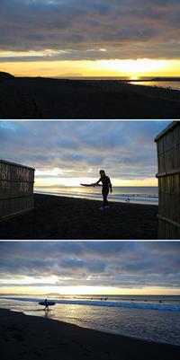 2020/12/06(SUN) のんびり時間が流れる日曜日の海辺でした。 - SURF RESEARCH