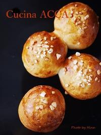日曜日のパン作り:ミルクプチパン - Cucina ACCA(クチーナ・アッカ)