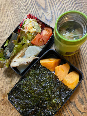 12/7 朝早いのも今季は終わり!パパ弁当 - コペル's ママのお弁当ーToday's lunchbox from Izumoー