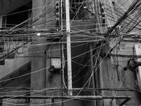 ASIAの記憶電線と室外機 - 散歩と写真 Fotografia é Passeggiata