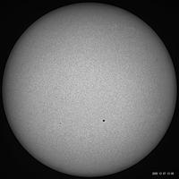 12月7日の太陽 - お手軽天体写真