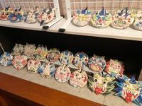 稲沢教室、シーサー展示、第2弾。 - 大﨑造形絵画教室のブログ