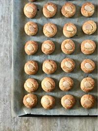 オレンジの皮をたっぷり!シチリア産アーモンドのビスコッティ - 幸せなシチリアの食卓、時々にゃんこ