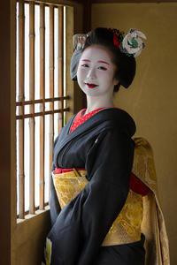先笄の笑顔(宮川町千賀遥さん) - 花景色-K.W.C. PhotoBlog