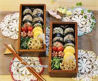 明太子と大葉の海苔巻き弁当とつぶやき♪ - ☆Happy time☆