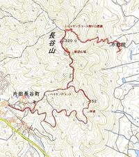 メガメぱぱの山歩き津10山長谷山2020.12.09 - メガネぱぱの山歩き日記