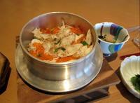 軽井沢プリンスホテル ウエスト * 日本料理からまつ~炙りのどぐろと蟹の釜飯♪ - ぴきょログ~軽井沢でぐーたら生活~