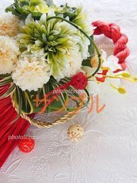 年賀状素材を販売しています - Bonbon Fleur ~ Jours heureux  コサージュ&和装髪飾りボンボン・フルール