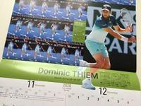 今頃今年のカレンダーが出てくる。 - 毎日テニス(旧 Rudern macht Spass.)