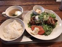 黒酢チキン南蛮定食 - 手のじ行くバイ