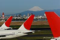 ◆ もう会えない飛行機たち、その34 「春を待つ朝」(2006年3月) - 空とグルメと温泉と