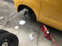 タイヤ交換 - ドカポルGS