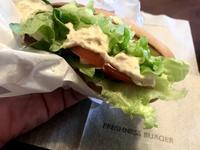 ツナトマトドッグ@フレッシュネスバーガーのモーニング - よく飲むオバチャン☆本日のメニュー