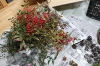 お正月飾りを作ったよ。 - ユリ 百合 ゆり 魚沼農場の日々