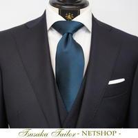 オリジナルネクタイ・ターコイズソリッド | NETSHOP - オーダースーツ東京 | ツサカテーラー 公式ブログ