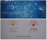 天気、気温と日照時間 - f's note ak