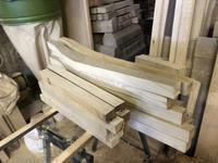 ダイニングチェアの加工はじめ - 手作り家具工房の記録