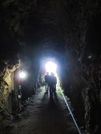 フィールドワークに行ってきた!岩脇蒸気機関車避難壕(滋賀県米原市) - 本日の中・東欧