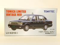 トミーテック・LV-N219a トヨタ クラウンセダン 東京無線タクシー(黒) - 燃やせないごみ研究所