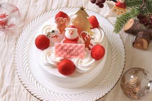 一足早いクリスマスケーキ -