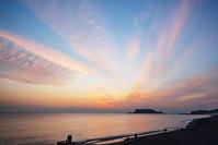 七里ヶ浜からのマジックアワー - エーデルワイスPhoto