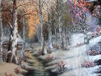 初冬の風景 - うららフェルトライフ