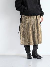 South2 West8 (S2W8)Army String Skirt - Flannel Pt. / Skull & Target - 『Bumpkins putting on airs』