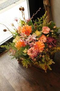 ご友人様へ結婚祝 - 北赤羽花屋ソレイユの日々の花