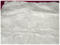 衣裳敷をロクタの手漉き紙で作る。 - nazunaニッキ