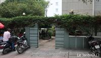 68. ギリギリ家の外にいるように / ル ジャルディン Le Jardin - ホーチミンちょっと素敵なカフェ・レストラン100