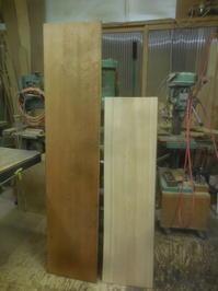 持ち込み板で - 手作り家具工房の記録