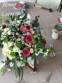 〜週末の婚礼から -  Flower and cafe 花空間 ivory (アイボリー)