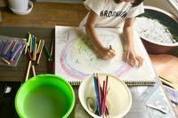 理系な子に育てる 22  お絵描き - 瀬戸の風