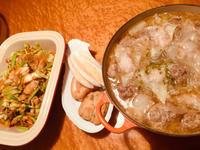 白菜の肉団子スープ - うちの食生活