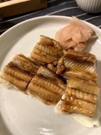 アナゴのお寿司。。。 - 来客手帖~ときどき薬膳