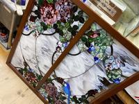 薔薇のパネル完成 - ステンドグラスルーチェの日常