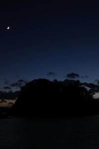 月と土星木星 - お空のひかり#2